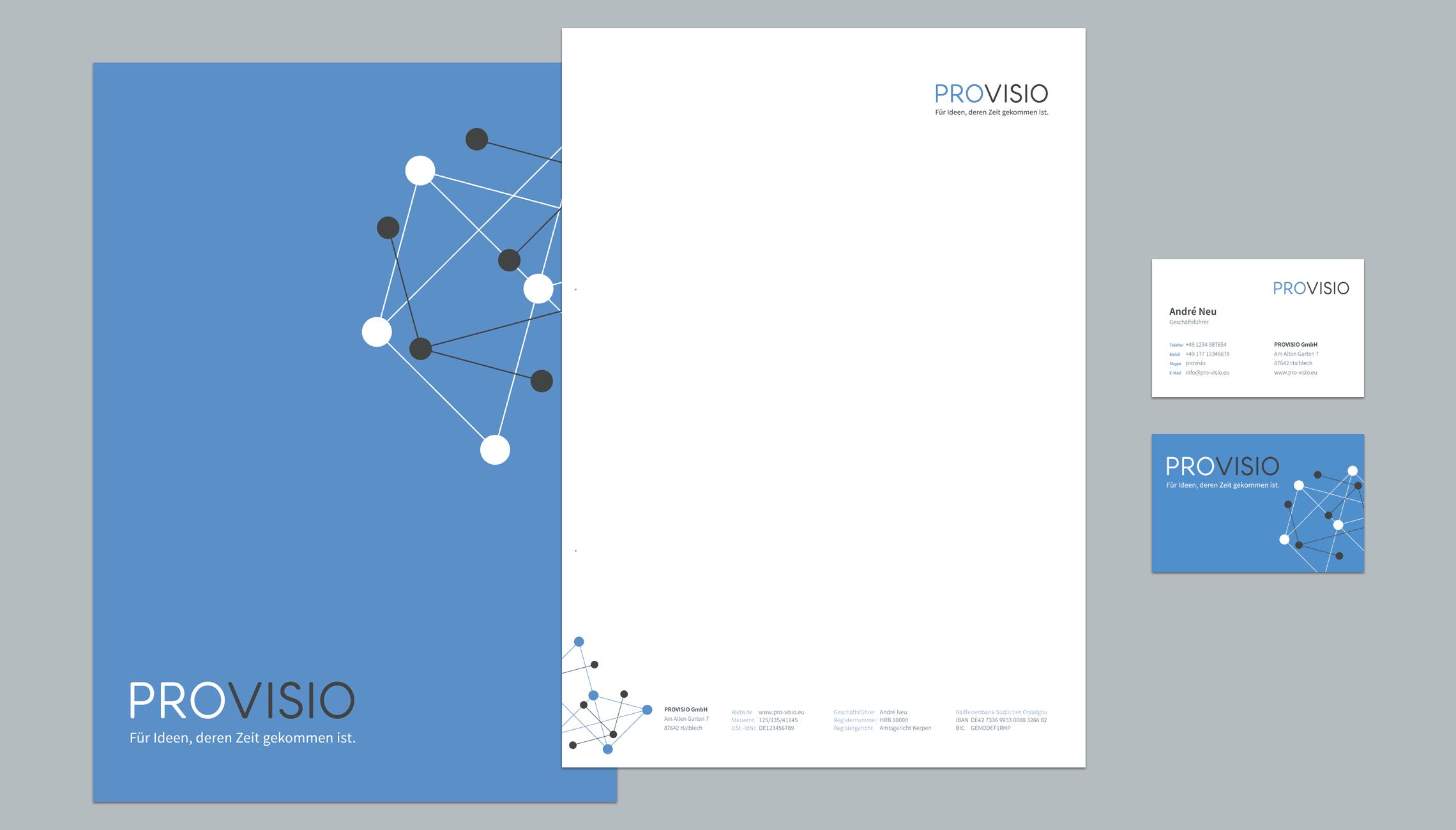 Provisio Corporate Design Nemin Kommunikation Und Design